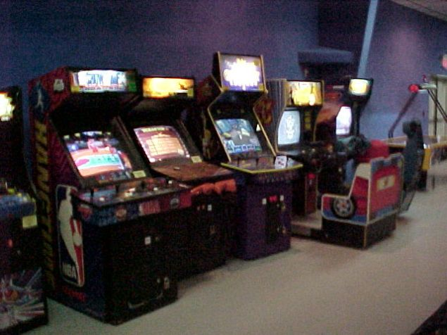 Image of an arcade