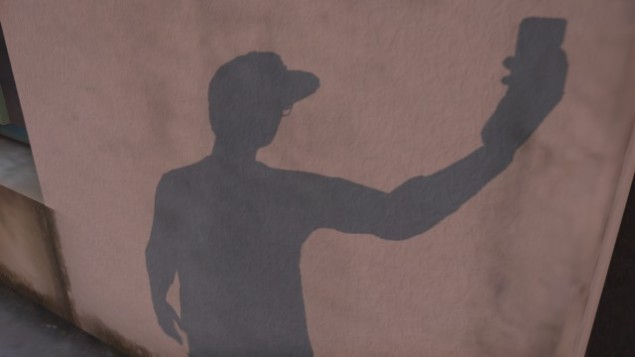 dramatic shadow shot
