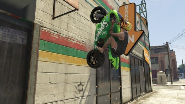 wall riding motorcycling son of a bitch